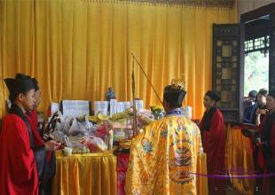 西安八仙宫举行丁酉年中元节超度大法会
