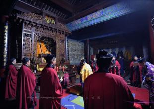 西安八仙宫举行己亥年道德天尊圣诞祝寿法会