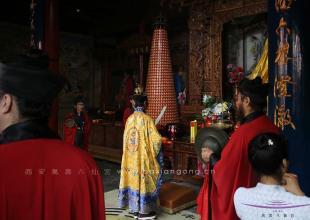 西安八仙宫举行吕祖圣诞1221周年开光法会