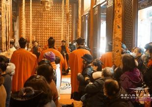 西安湘子庙举行庚子年(2020)庆贺湘祖圣诞活动