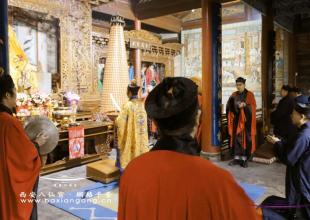 西安八仙宫举行辛丑年(2021)道德天尊圣诞祝寿法会