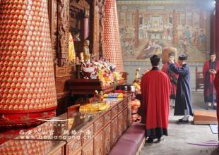 西安八仙宫举行辛丑年(2021)庆贺道德天尊圣诞祈福法会